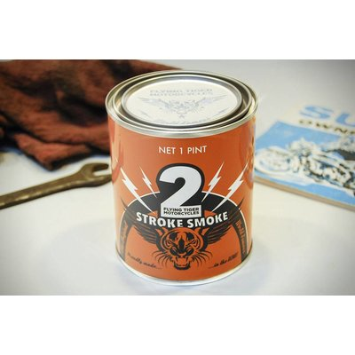 Flying Tiger Motorcycles 2 Stroke Smoke Candle