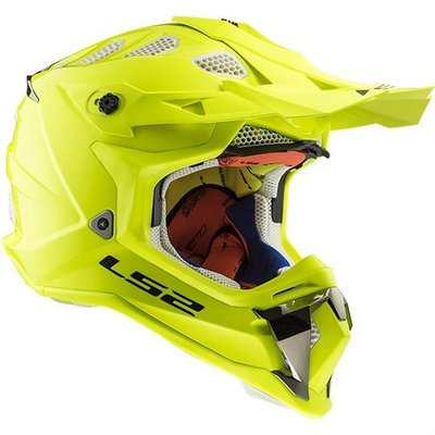 LS2 MX470 Subverter Single Mono - Gloss Fluor Yellow