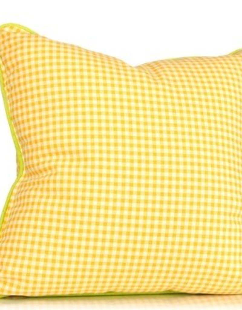 Yellow pillow