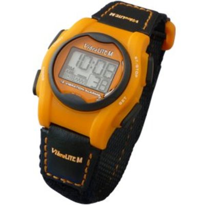 Vibra Lite Alarm-Uhr Mini Vibra Lite 12 orange