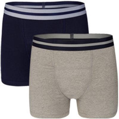 UnderWunder Heren Boxer blauw/ grijs (setprijs)