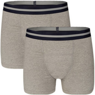 UnderWunder Men Boxer Grey (set of 2)