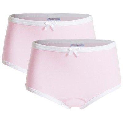UnderWunder Meisjes Slip, roze (prijs per 2 stuks)