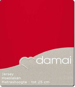 Damai Hoeslaken Double Jersey Red