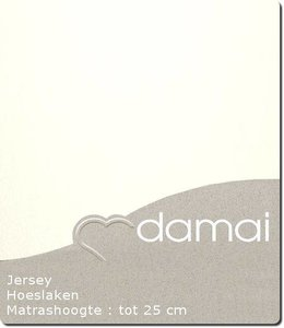 Damai Hoeslaken Double Jersey Cream