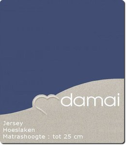 Damai Hoeslaken Double Jersey Dark Blue