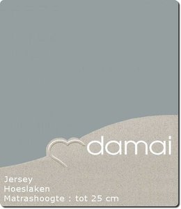 Damai Hoeslaken Double Jersey Grey
