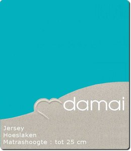 Damai Hoeslaken Double Jersey Turquoise
