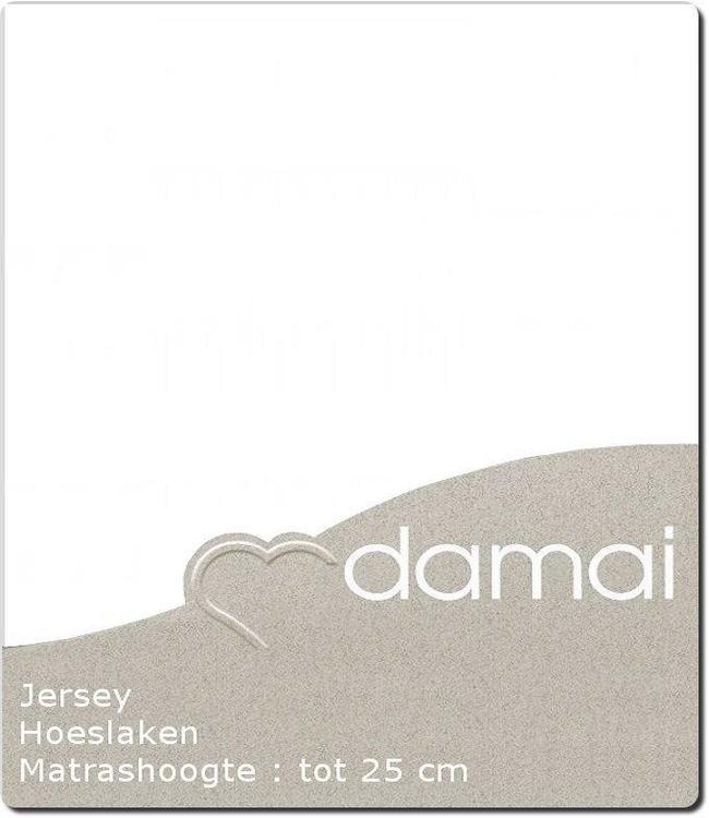 Damai Hoeslaken Double Jersey White