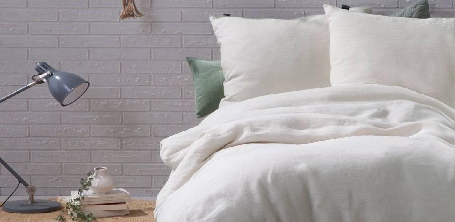 Rust creëren in je slaapkamer met naturel tinten - Dekbedovertrekken ...