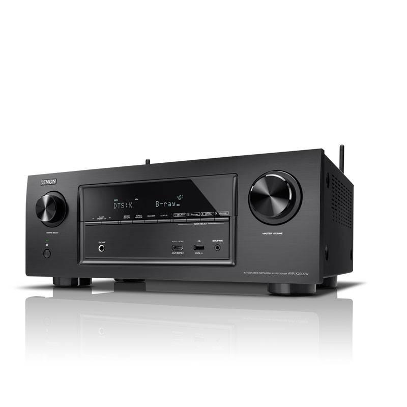 Denon: AVR-X2300W Receiver Zwart
