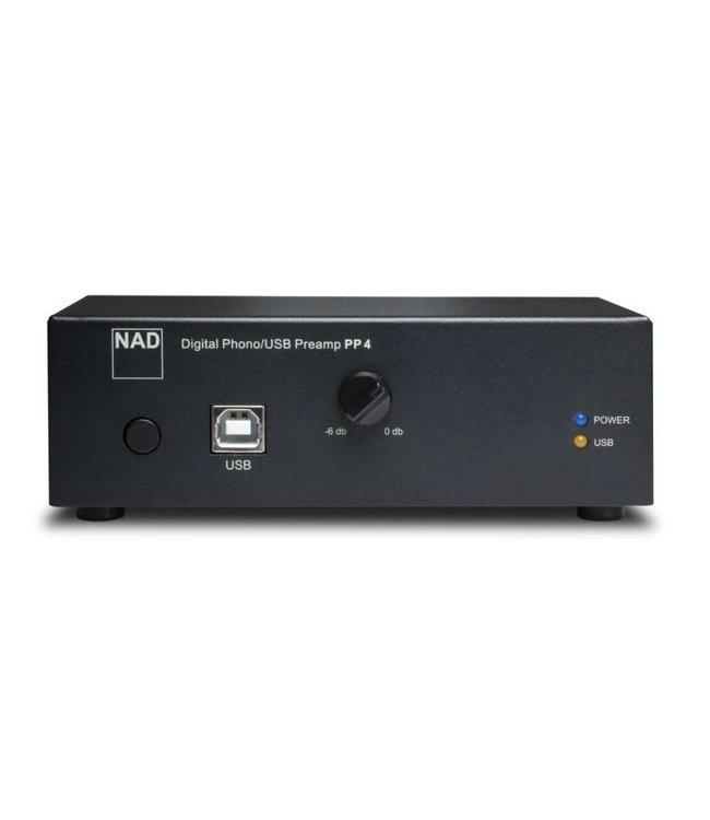 NAD PP4 Digital Phono USB voorversterker