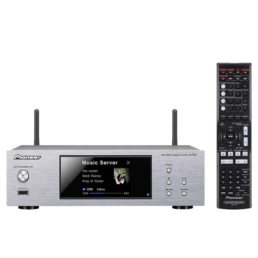 Pioneer N-PO1-S hifi netwerk audiospeler