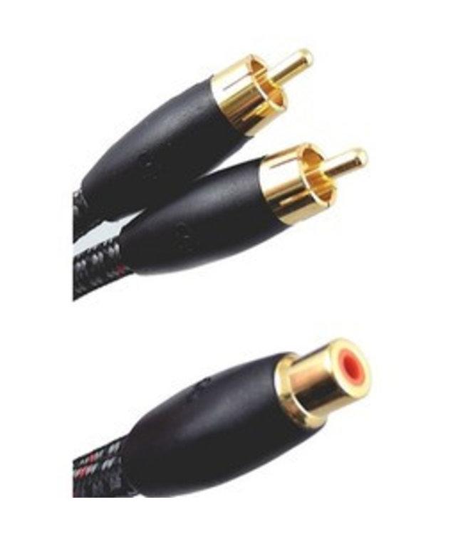 AudioQuest FLX-X Flexible Y RCA Splitter Kabel