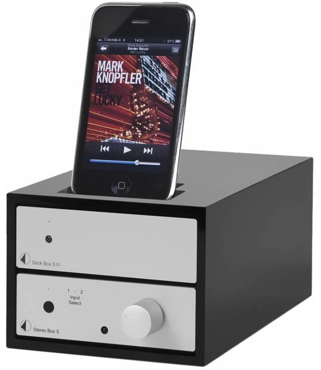 Pro-Ject Design Box 2 Acryl iP