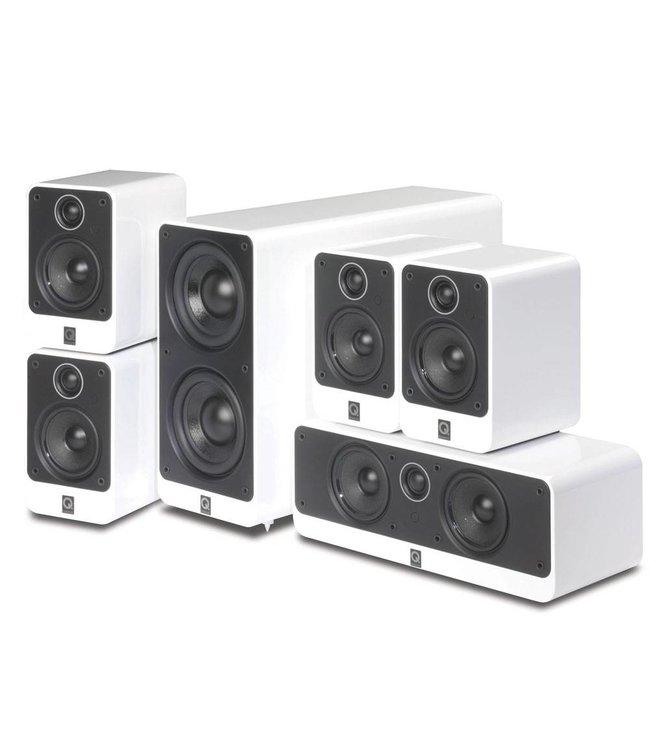Q Acoustics 2000i + Denon AVR-X2300W 5.1 systeem