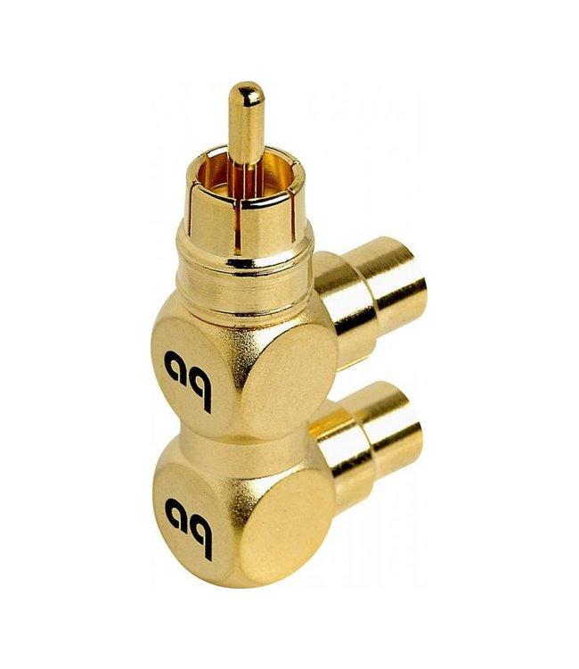 AudioQuest Hard RCA Splitter (Male > 2 Female)