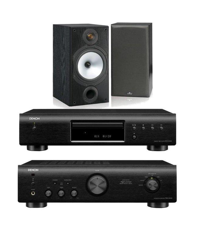 Denon PMA-520 + DCD-520 + Monitor Audio MR2