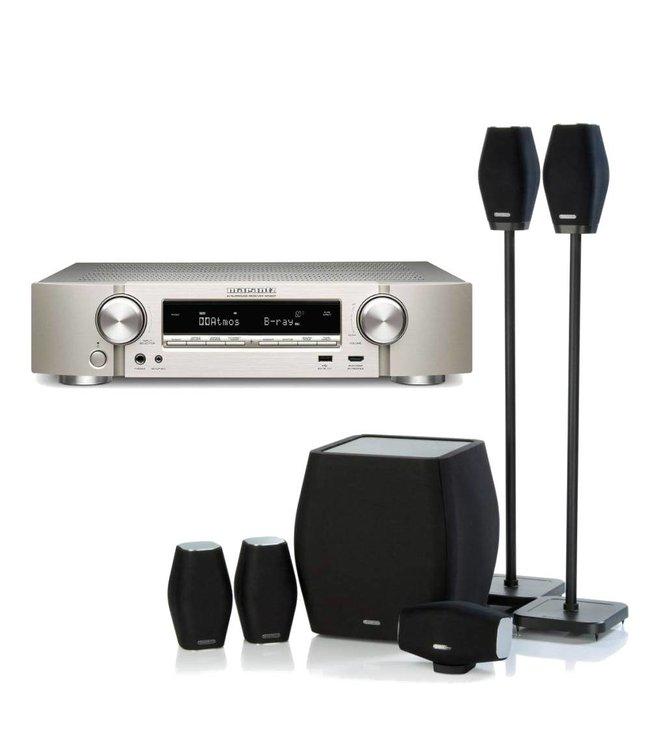Marantz NR1607 + Monitor Audio Mass 5.1