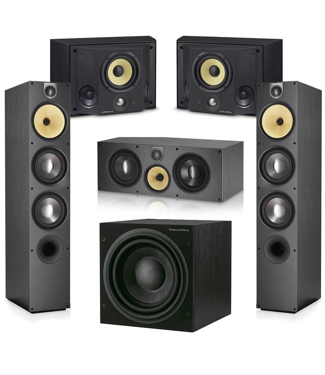 Bowers & Wilkins 683 S2 + ASW610XP + HTM61 S2 + DS3 5.1 set