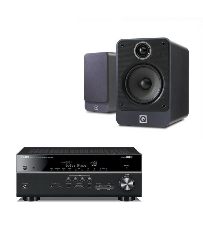 Yamaha RX-V681 + Q Acoustics 2020i (set)
