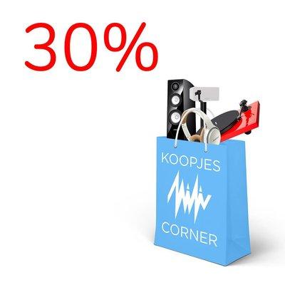 Koopjescorner - 30%