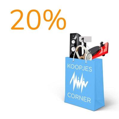 Koopjescorner - 20%