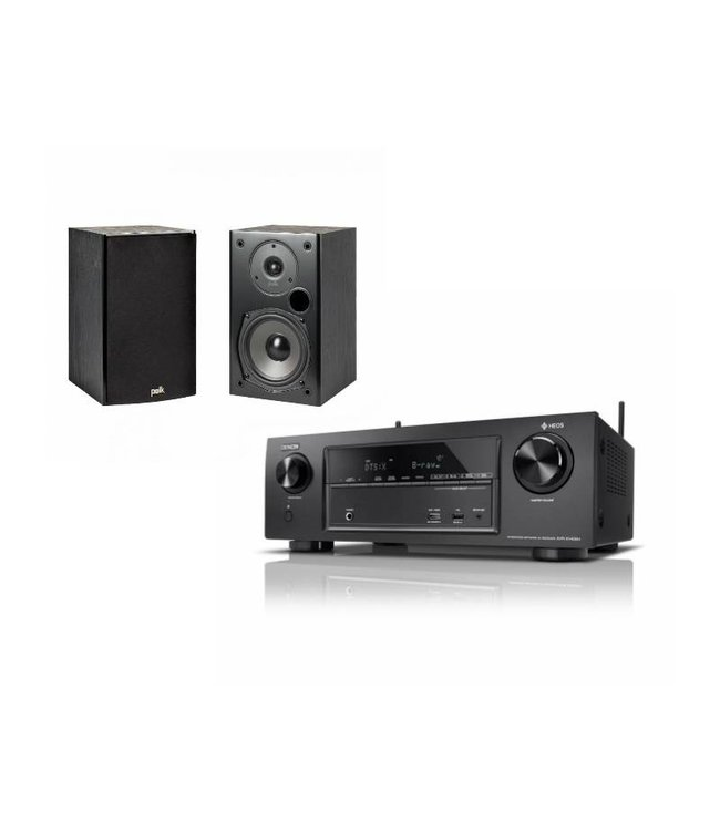 Denon AVR-X1400H + Polk Audio T15 (set)