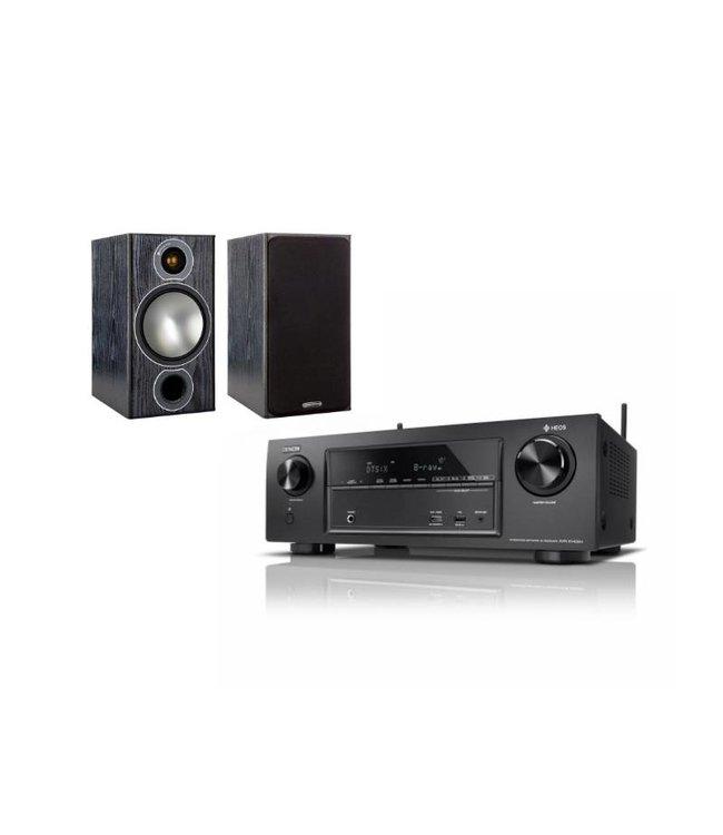 AVR-X1400H + Monitor Audio Bronze 2 (set)