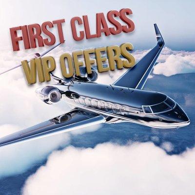 First Class VIP Offers