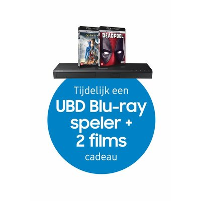 Samsung Cinematic Soundbar + UHD Blu-ray Speler