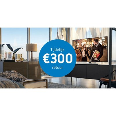 Samsung Cashback Actie   UHD Premium TV's