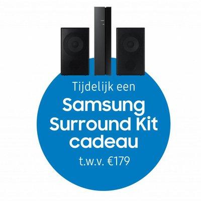 Samsung All-in-one Soundbar + Wireless Rear Speaker kit