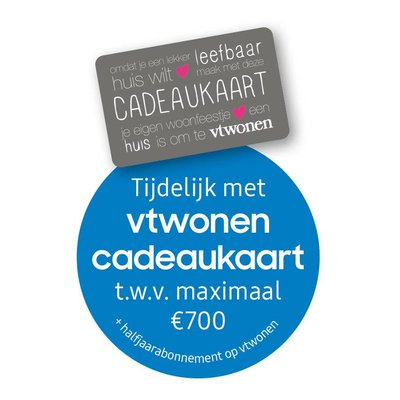 Ontvang een vtwonen cadeaukaart tot €700 óf tot €500 retour bij een promotiemodel QLED TV