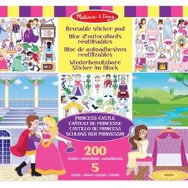 Melissa & Doug Melissa + Doug Stickervellen herbruikbaar Prinses