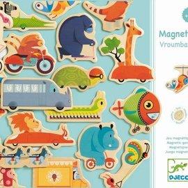 Djeco Djeco Houten magneetspel - Vroumbazar