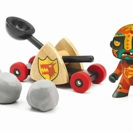 Djeco Djeco Arty toys Ridders - Baldy + Big paf