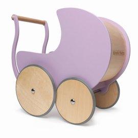 Kinderfeets Kinderfeets Poppenwagen lavendel