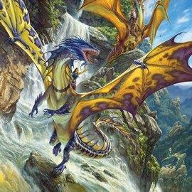 Cobble Hill Waterfall Dragons (1000 stukjes)