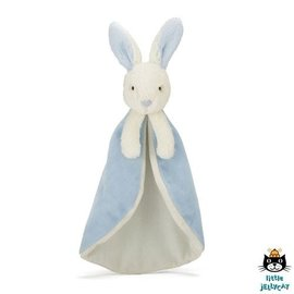 Jellycat Bobtail Bunny Blue Soother