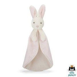 Jellycat Bobtail Bunny Pink Soother