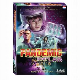 Z-Man Games Z-Man Games Pandemic - In het lab NL