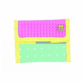 Pixie Crew portemonnee licht roze plusjes
