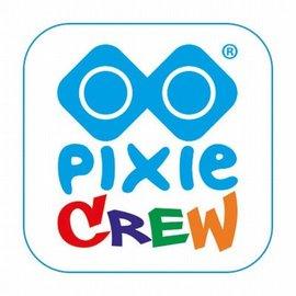 Pixie Crew 100 pixels div. kleuren blauw (in zakje)