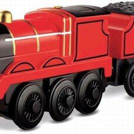Thomas houten trein: James (Batterij aangedreven)
