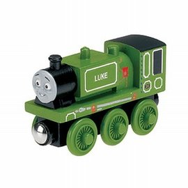 Thomas houten trein: Luke