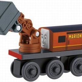 Thomas houten trein: Marion