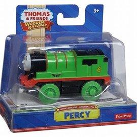 Fisher Price Thomas houten trein: Percy (batterij aangedreven)