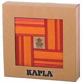 Kapla Kapla 40 doos oranje rood met boekje