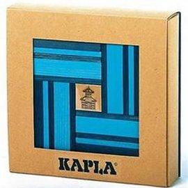 Kapla 40 doos licht donkerblauw met boekje